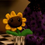 Dr. Terri's Plants vs Zombies Sunflower in bucket