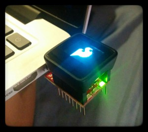 My MicroView (Adorable Arduino with OLED display)