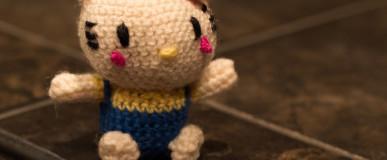 "Hello Kitty Amigurumi (""Bring me the head of Hello Kitty!"")"