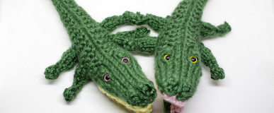 Rippy and Chompy the Gators