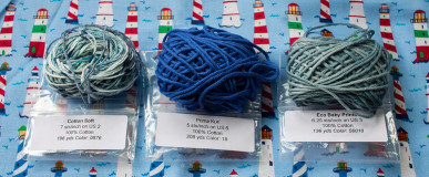 Yarn of the Month Club review, May 2015