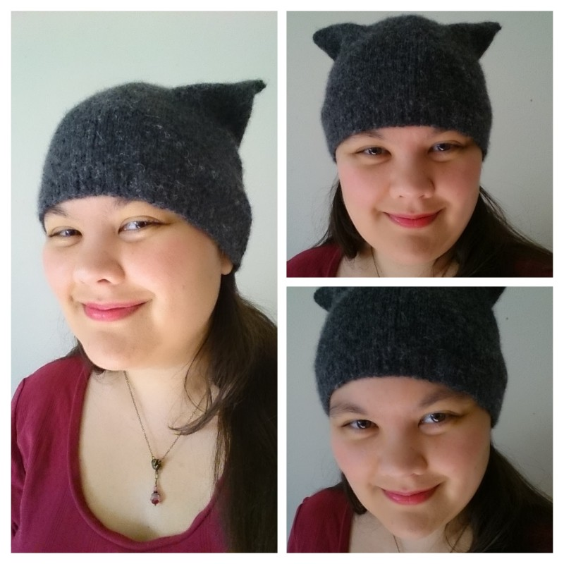 Easy Kitty Hat Collage