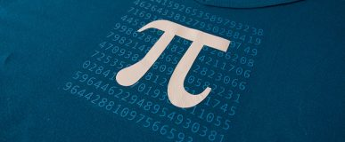 Pi day t-shirt (free silhouette cut file)