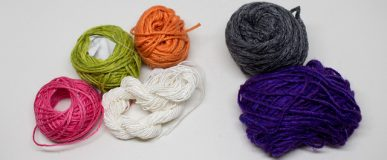 Yarn Subscription preview, August 2016 (Yarn of the Month and Jimmy Beans Beanie Bags)