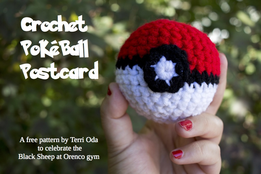 How to crochet a Pokeball that opens and closes! | Pokemon ... | 600x900