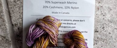 Yarn Indulgences mini a month subscription!