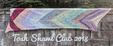 Tosh Shawl Club 2018 – July to December