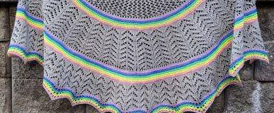 Oregon Sky Shawl / #glowupknittedwit Kit