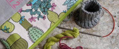 Made BySarahS Mystery Sock Knit a Long